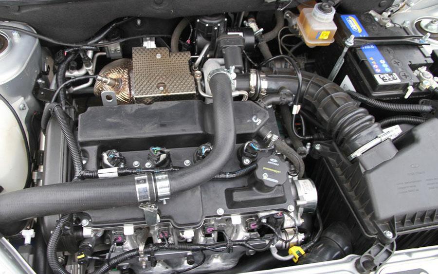 Турбированный двигатель для LADA