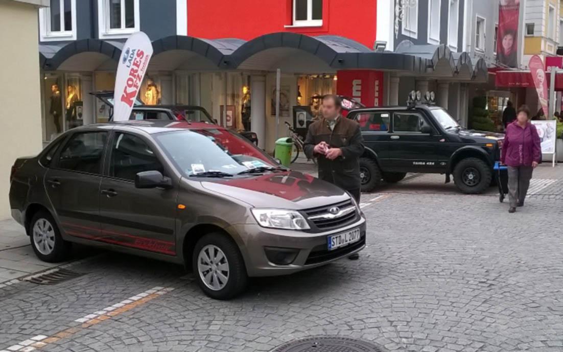 В Германии увеличился спрос на автомобили Lada