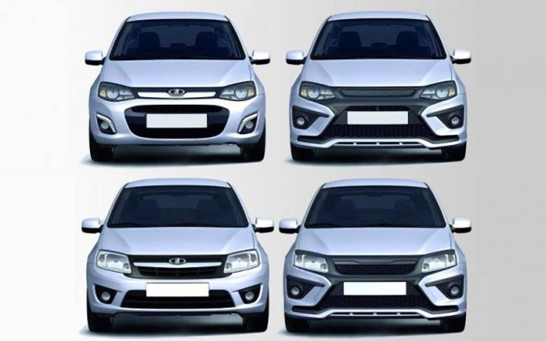 АвтоВАЗ готовит новые версии Lada Granta и Lada Kalina