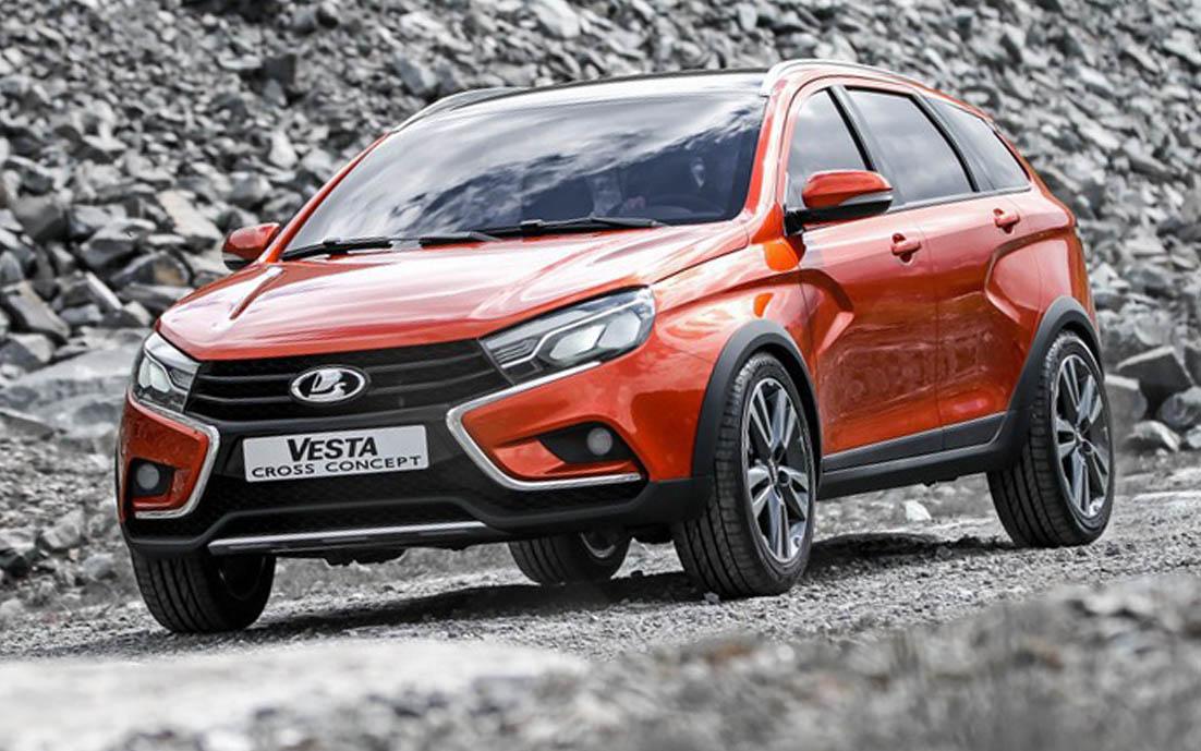 Lada Vesta Cross поступит в серийное производство
