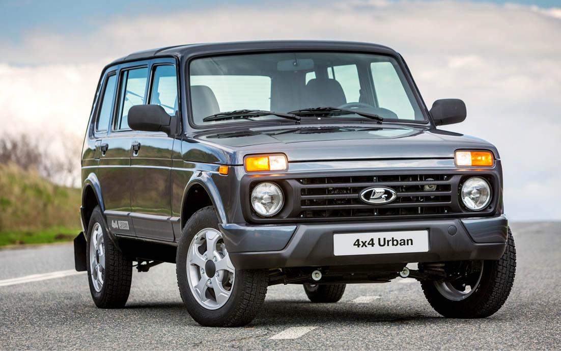 Начались продажи 5-дверной Lada 4x4 Urban.