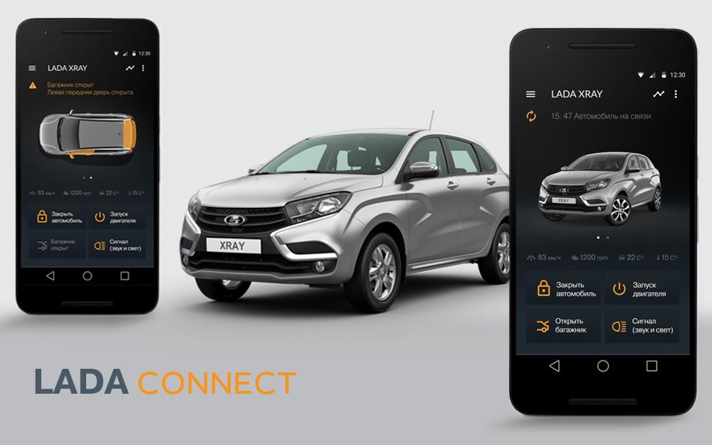 LADA CONNECT объединит автомобиль, смартфон и современный стиль жизни.