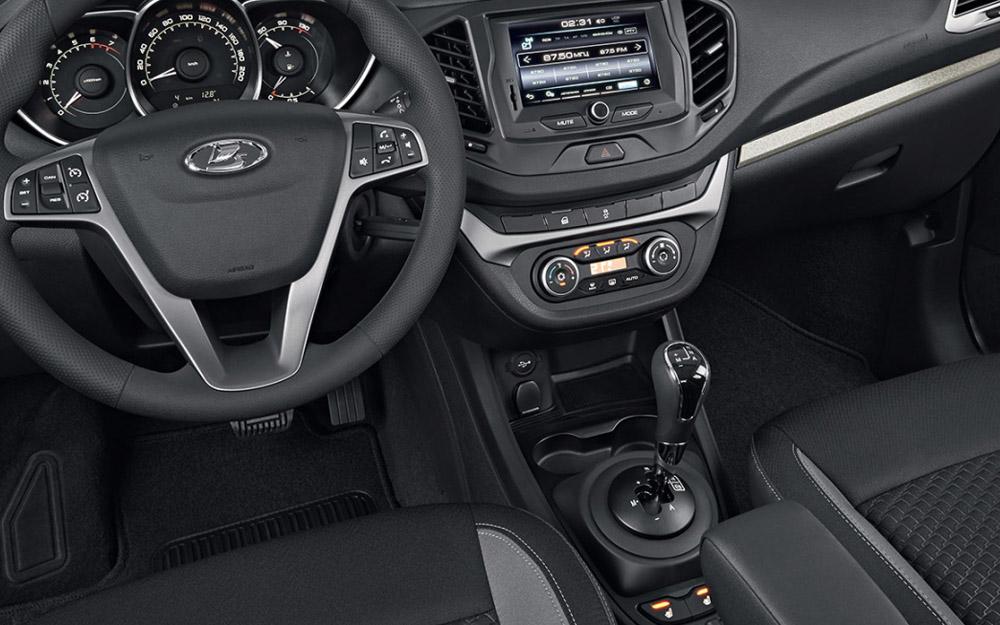 На АМТ Lada Vesta появился «ползущий режим».
